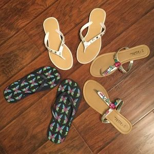 ... 🌺3 Pair of Flip Flops🌺 ... f06b813dd